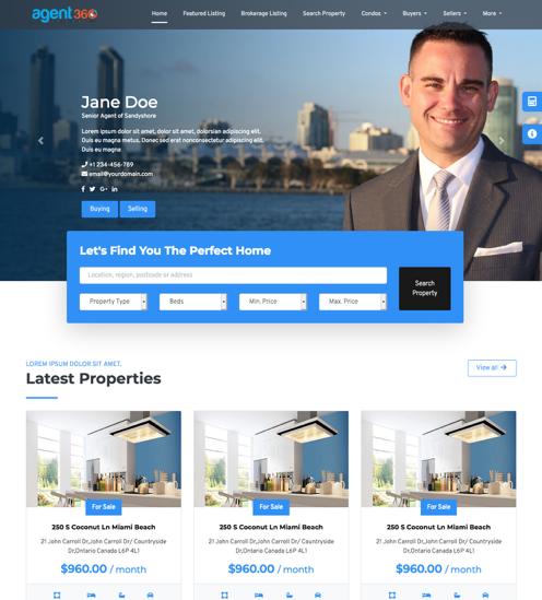 website builder brokers