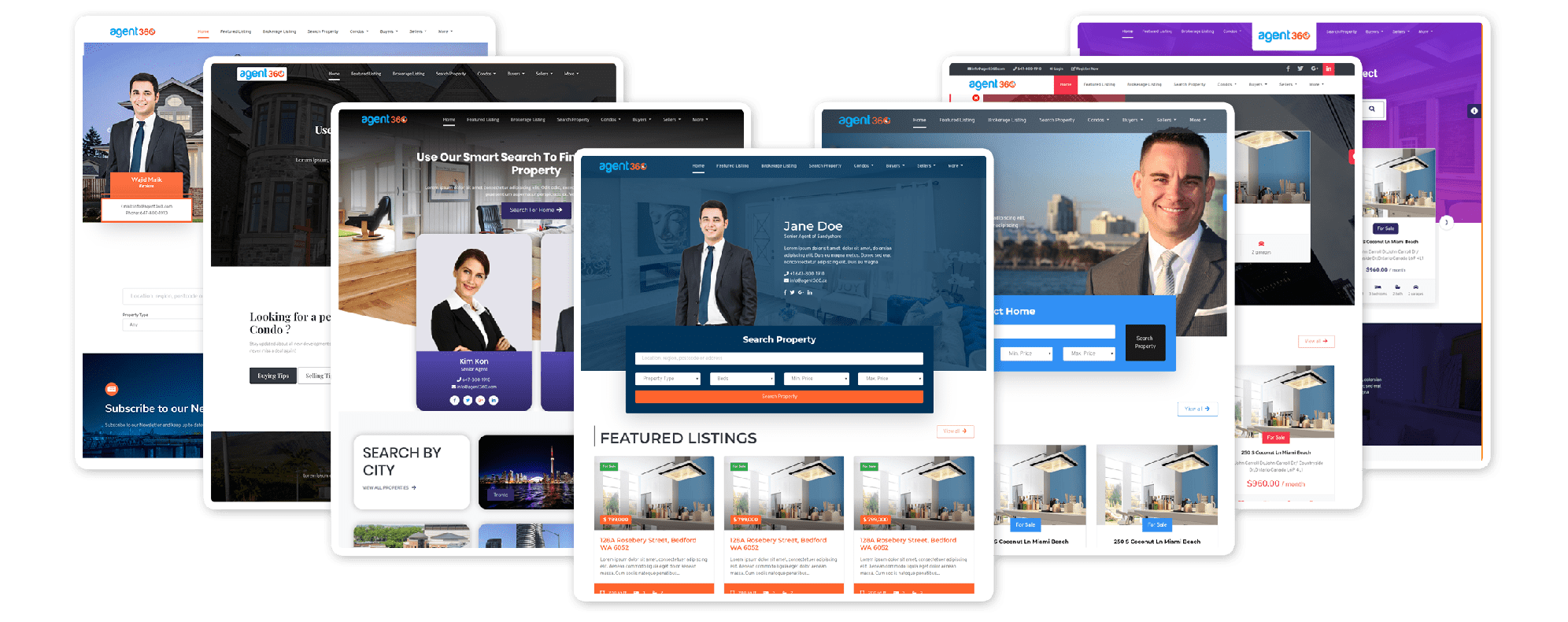 realtors website builder